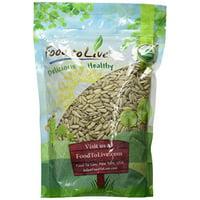 Food To Live  Organic Sunflower Seeds (Raw, No Shell) (1 Pound)