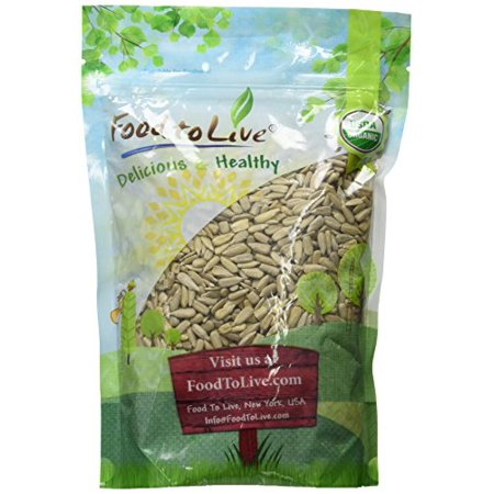 Food To Live ® Organic Sunflower Seeds (Raw, No Shell) (1