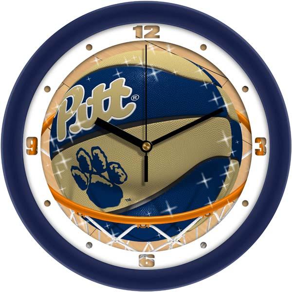 Pitt Slam Dunk Wall Clock