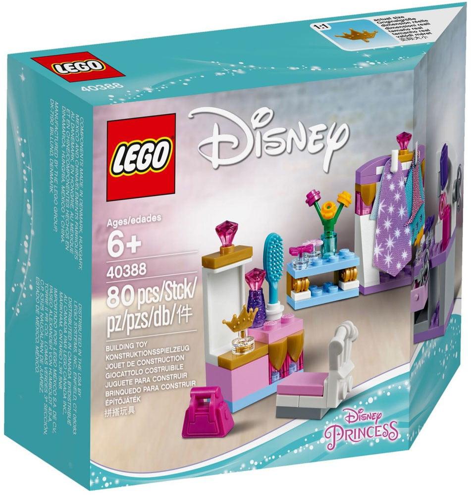 Disney Princess Mini-Doll Dress-Up Kit Set Lego 40388 by