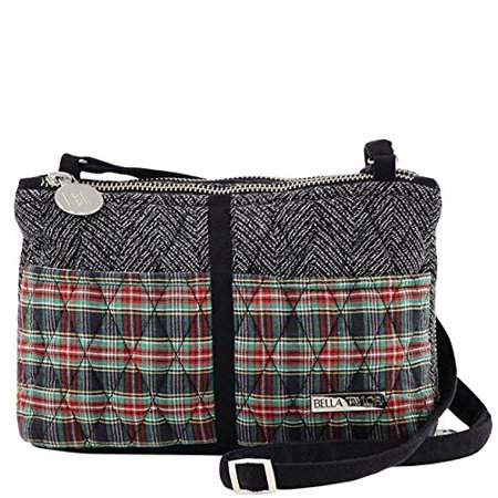 Ivy Essentials, The Essentials from our Ivy Collection features a red, green and black plaid on the front pockets and back wallet compartment.., By Bella -