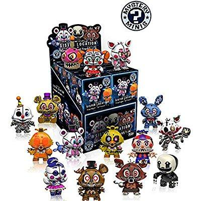 Funko Mystery Mini Five Nights At Freddy Series 2   Sister Location Display Box Of 12 Action Figures