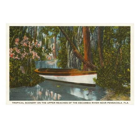 Escambia River, Pensacola, Florida Print Wall - Party City Pensacola Florida