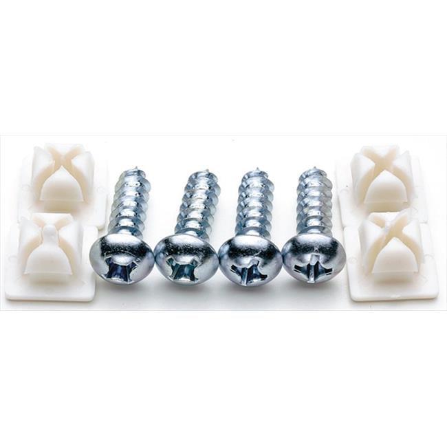 Cruiser Accessories 80230 Fasteners, Standard-Steel, Pack of 20