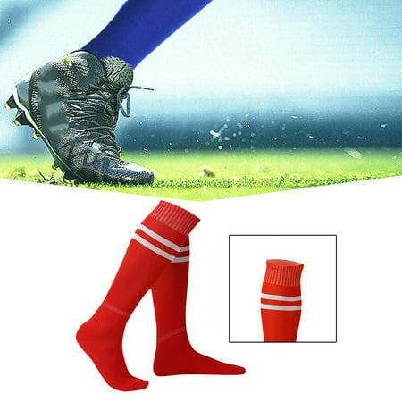 50eb31869 1 Pair Sports Socks Knee Legging Stockings Soccer Baseball Football Over  Knee Ankle Men Women Socks - Walmart.com