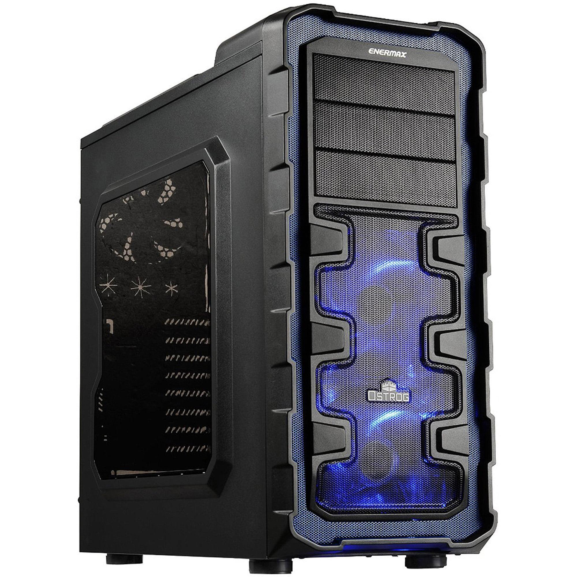 Enermax Ostrog GT ECA3280A-BL Computer Case, Blue by Ecomaster