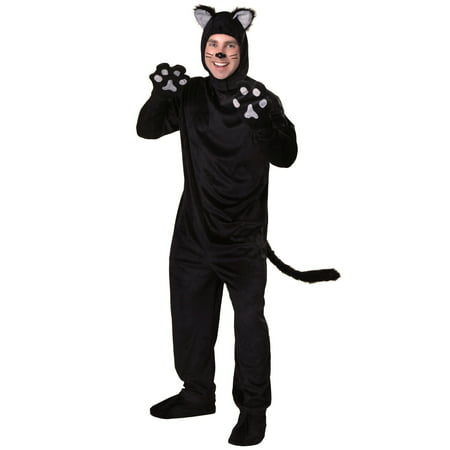 Plus Size Black Cat Costume - Black Cat Kigurumi