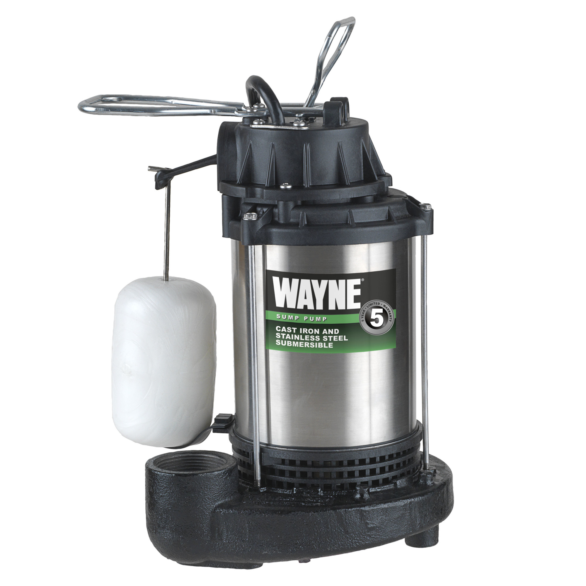 WAYNE CDU1000 1 HP Stainless Steel Sump Pump