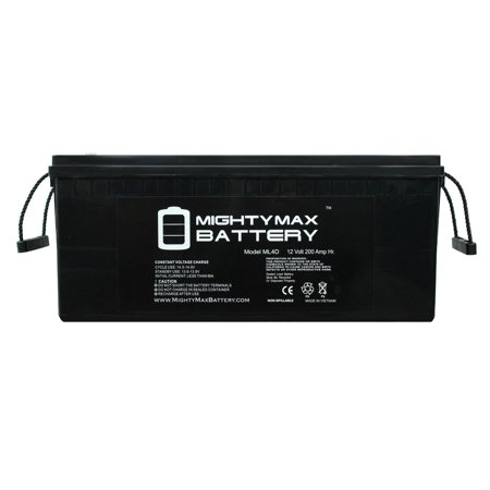12V 200Ah 4D SLA AGM Replacement for First Power - 4d Marine Battery