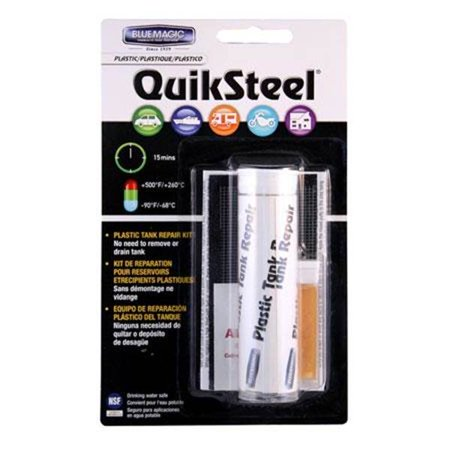 Blue Magic QuikSteel Plastic Tank Repair Kit
