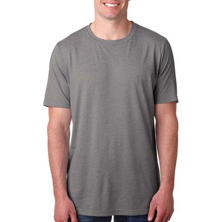 Next Level Mens Blended Preshrunk T-Shirt, Pack of 3 Blend Mens T-shirt