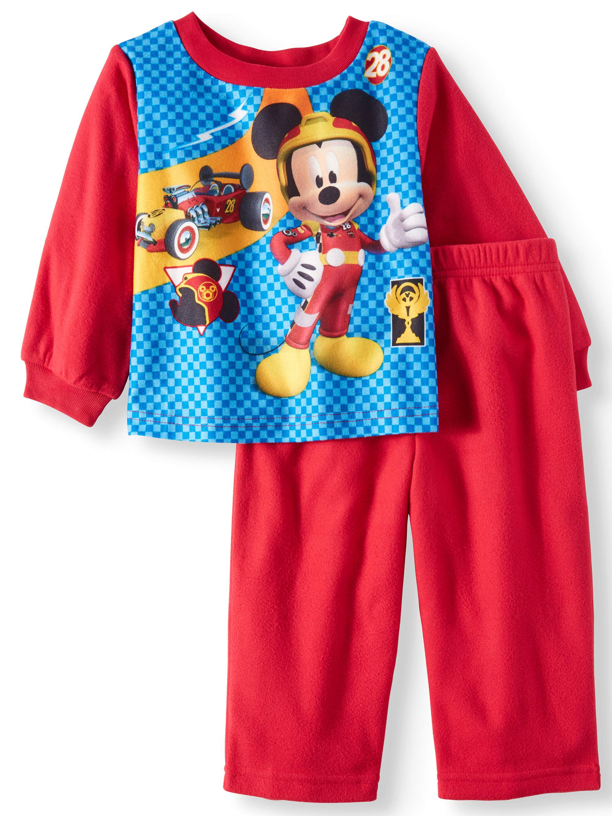Mickey Mouse Pajamas, 2pc Set (Toddler Boys)