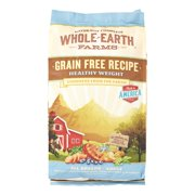 Whole Earth Farms Grain-Free Healthy Weight Recipe Dry Dog Food, 4 lb