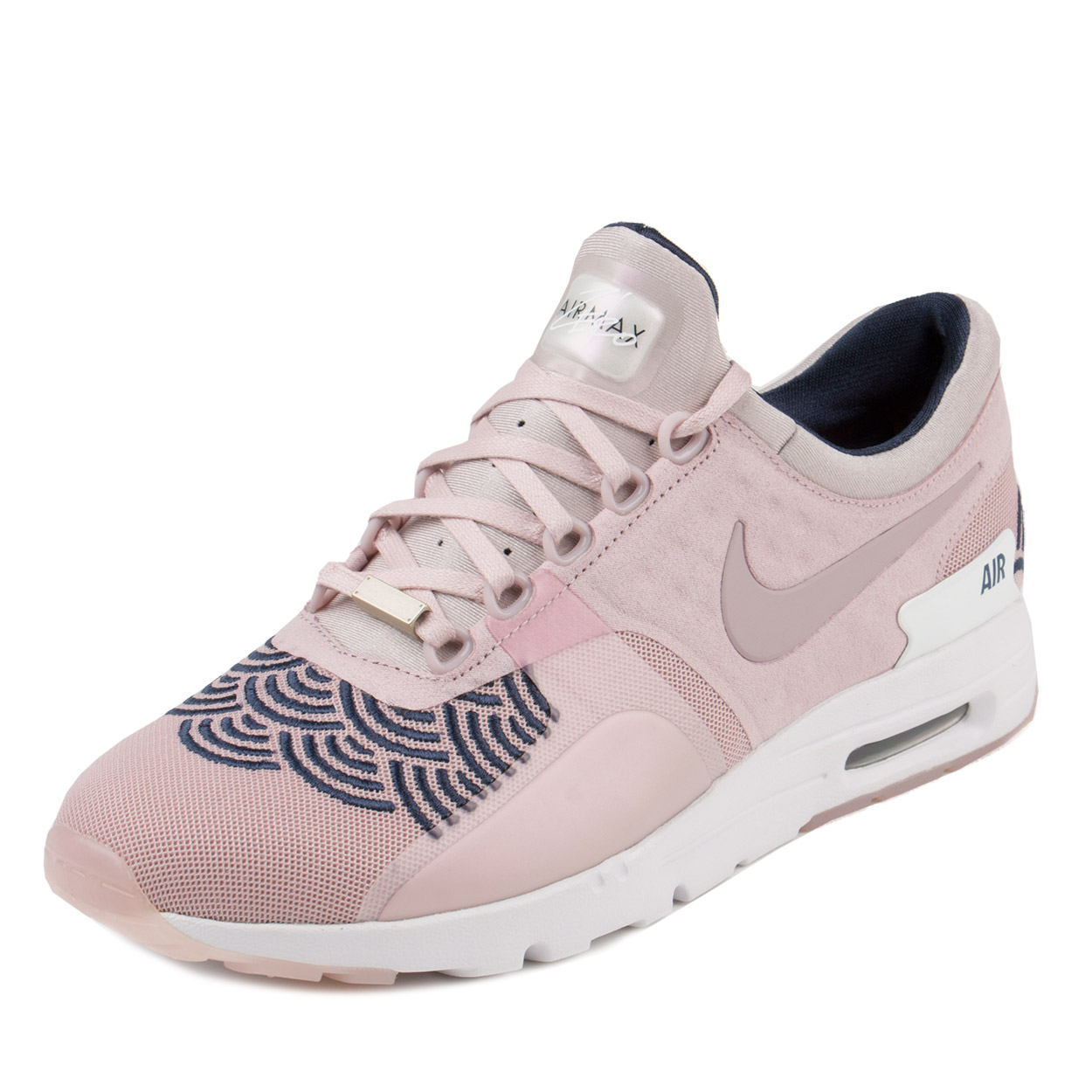 online store 4cea6 55286 ... promo code for nike womens w air max zero lotc qs champagne pink  midnight navy 847125