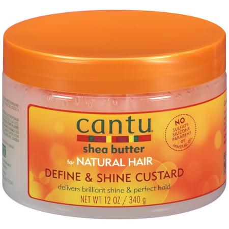 Cantu Shea Butter for Natural Define & Shine Custard,12 (Best Just Natural Products Just Natural Products Body Scrubs)
