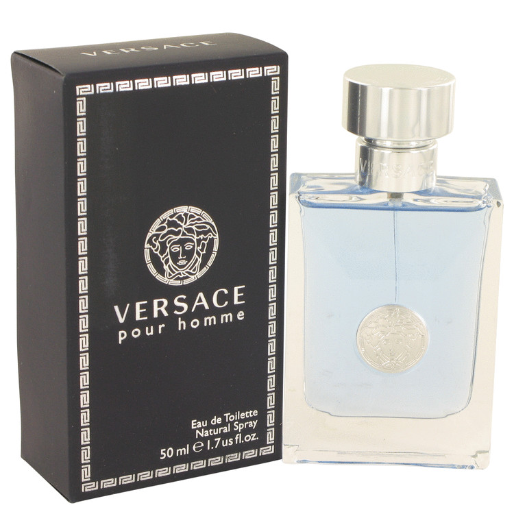 Versace Signature Homme Cologne for Men, 1.7 Oz