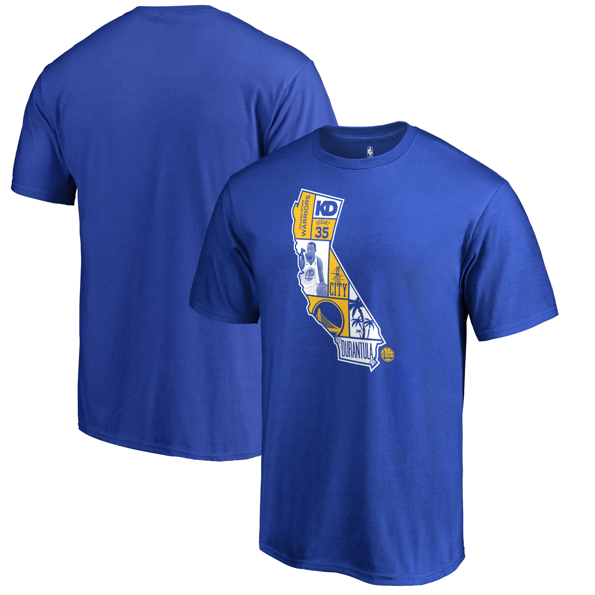 Kevin Durant Golden State Warriors Fanatics Branded Player State T-Shirt - Royal