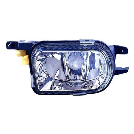 Compatible 2005 - 2007 Mercedes-Benz C230 Fog Light Lamp Assembly Replacement Housing / Lens / Cover - Left (Driver) Side 203 820 17 56 64 MB2592109 Replacement For Mercedes-Benz C230