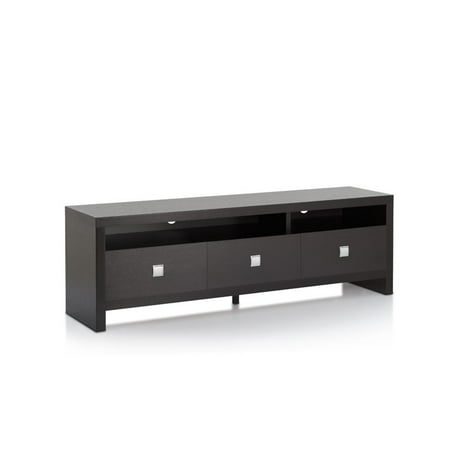 Furniture of America Tenca Contemporary 60″ TV Stand in Cappuccino