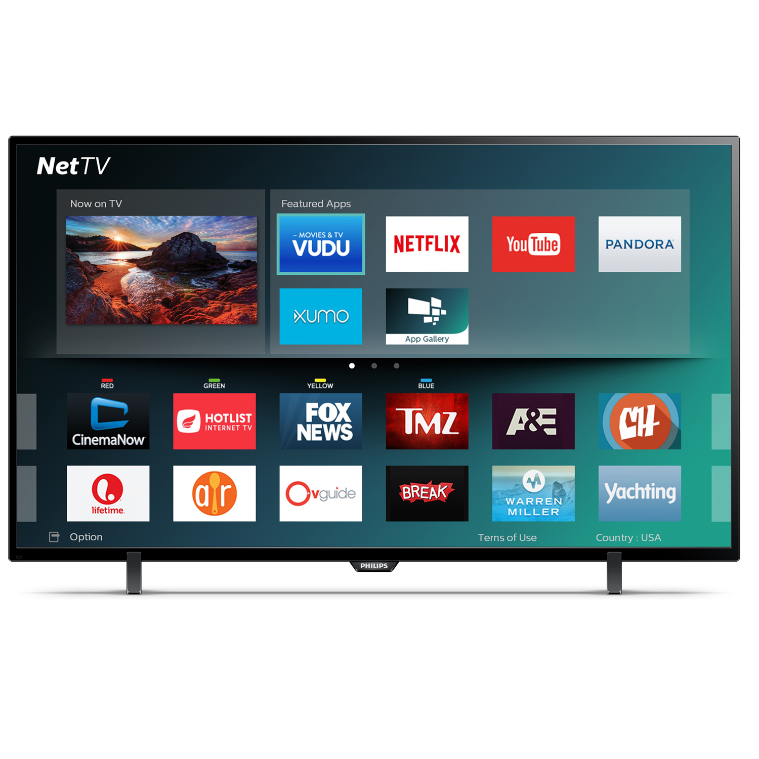 "Refurbished Philips 43"" Class FHD (1080P) Smart LED TV (43PFL4902/F7)"
