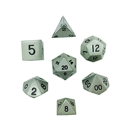Set Of 7 Aged Mithral Full Metal Polyhedral Dice By Norse Foundry Rpg Math Games Dnd Pathfinder Walmart Canada Our norse foundry coupons, promos and discount codes. walmart ca