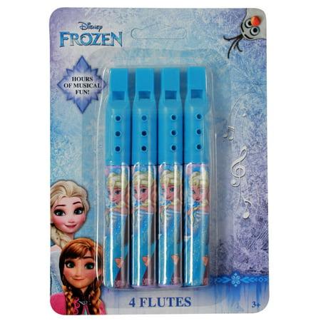 Disney Frozen Mini Flute Musical 4 Pack Instrument Toy