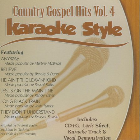 Daywind Karaoke Style: Gospel Country Hits, Volume 4: Karaoke Style (Other) (CD)