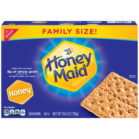 Nabisco Honey Maid Crackers Family Size, 25.6 - Halloween Treats With Graham Crackers