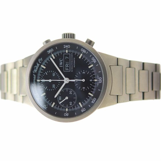 finest selection af201 71038 Iwc Gst Split Second IW370703 Titanium Watch (Certified Pre-Owned)