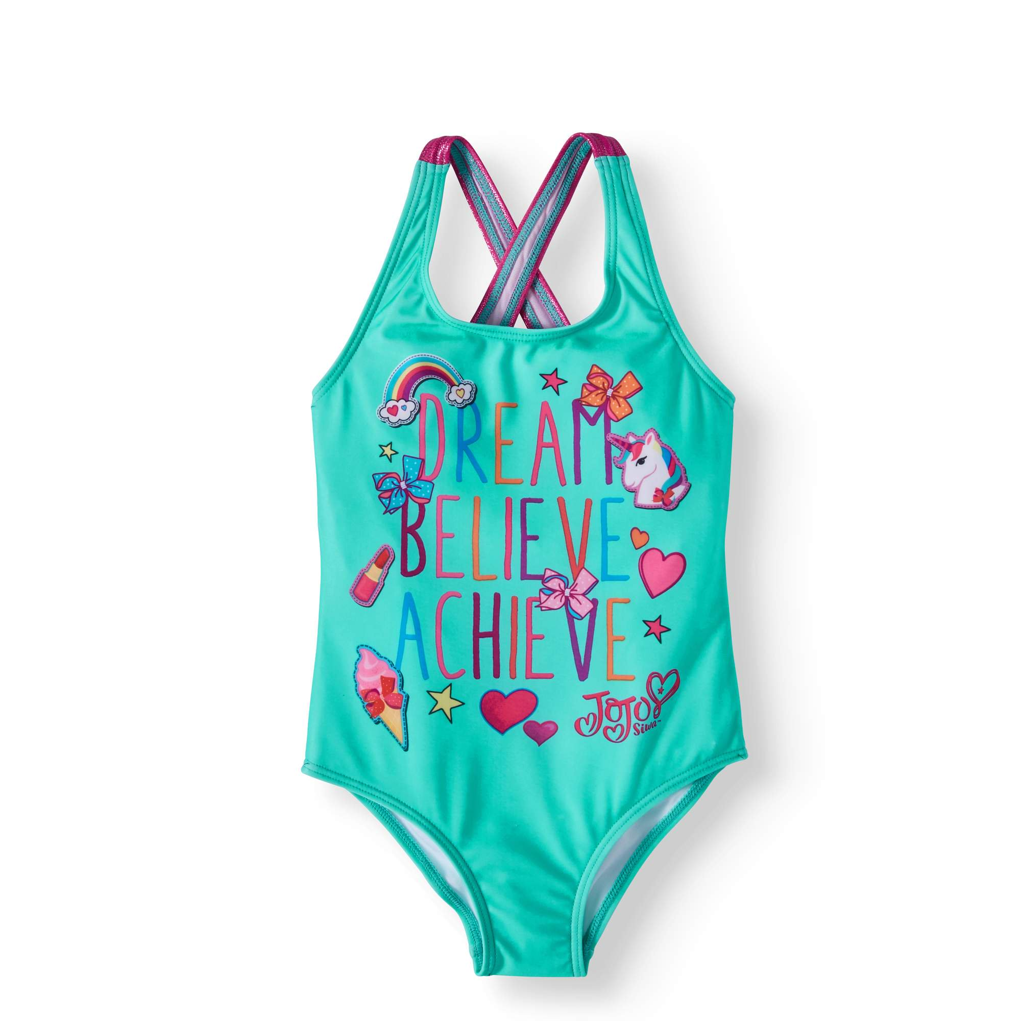 6633629470a1a Buy JoJo Siwa Girls  1 Piece Swimsuit