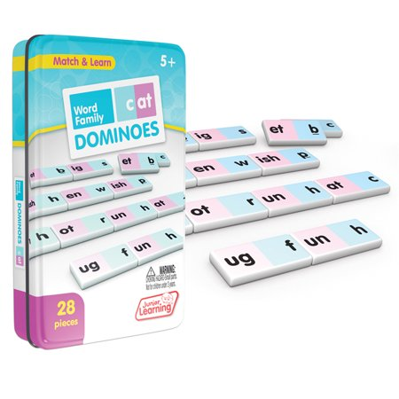 Junior Learning - Word Family Dominoes Match & Learn Educational Learning