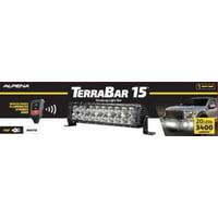"""Alpena Terrabar LED Light 15"""", 12V System, Alloy, Stainless Steel, Model 77628"""