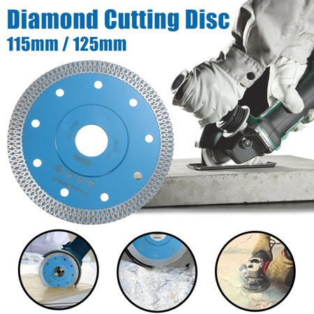 115/125MM Porcelain Tile Turbo Thin Diamond Dry Cutting Blade Grinder Wheel