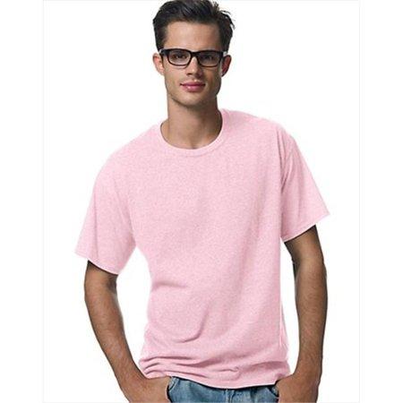 5170 Comfortblend Ecosmart Crewneck Mens T-Shirt Size 2X, Pale Pink.