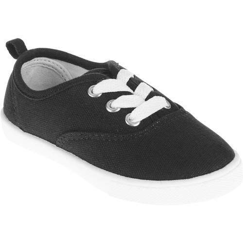Toddler Girls' Lace-Up Canvas Shoe