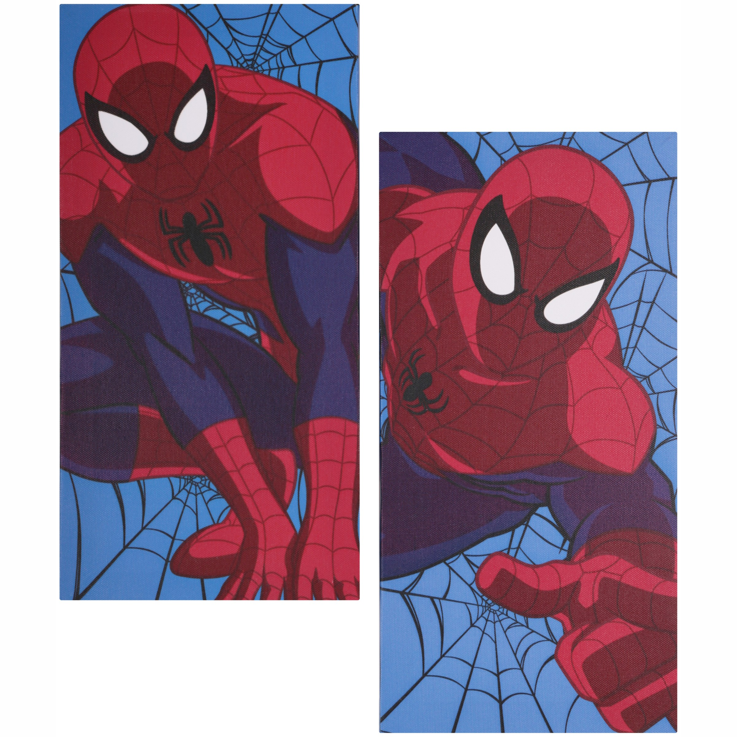 Marvel Ultimate Spider-Man 2 Pack Canvas Wall Art 2 pc Pack