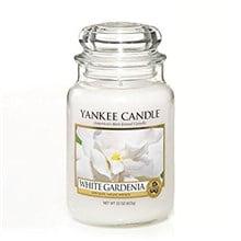 Yankee Candle White Gardenia Scented Large Jar