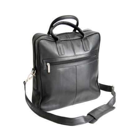 Royce Leather Computer Case (Royce Leather Executive Colombian Vaquetta Leather Laptop Briefcase, Black)