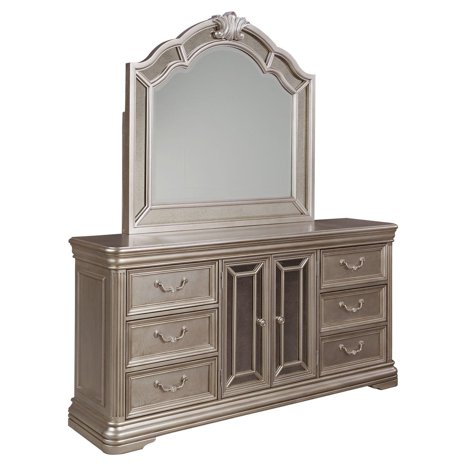 Signature Design by Ashley Birlanny 6 Drawer Dresser with Optional Mirror