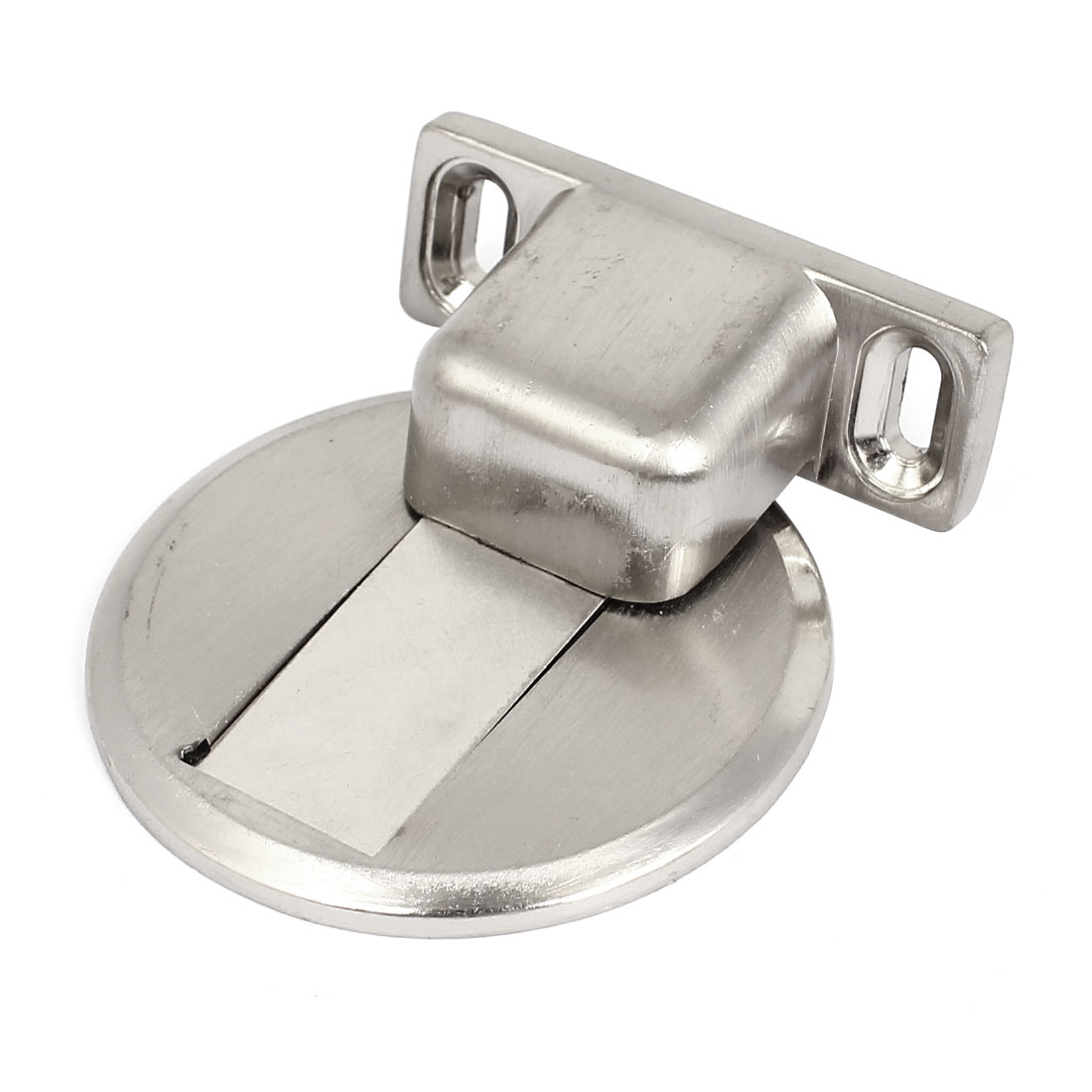 Home Office Stainless Steel Magnetic Door Stop Stopper Catch w Screws