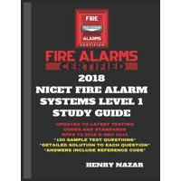 2018 Nicet Fire Alarm Systems Level 1 Study Guide (Paperback)