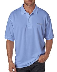 Columbia Menss Perfect Cast Short Sleeve Polo