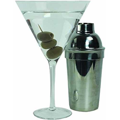 Extra Large Giant Martini Cocktail Glass -25oz (760ml) by Royal Lush
