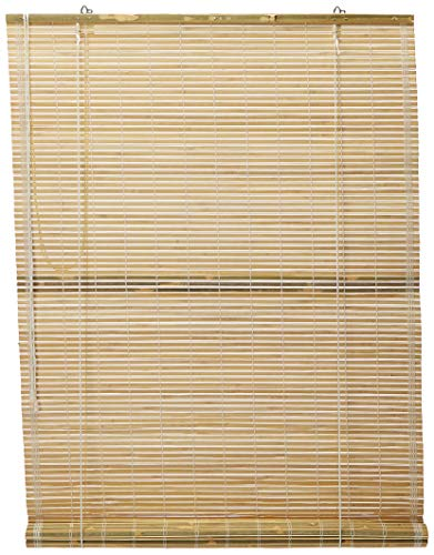 Oriental Furniture Burnt Bamboo Roll Up Blinds Natural 24 In X 72 In Walmart Canada