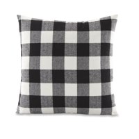 """Product Image Better Homes & Gardens Feather Filled Buffalo Check Decorative Throw Pillow, 18"""" x 18"""