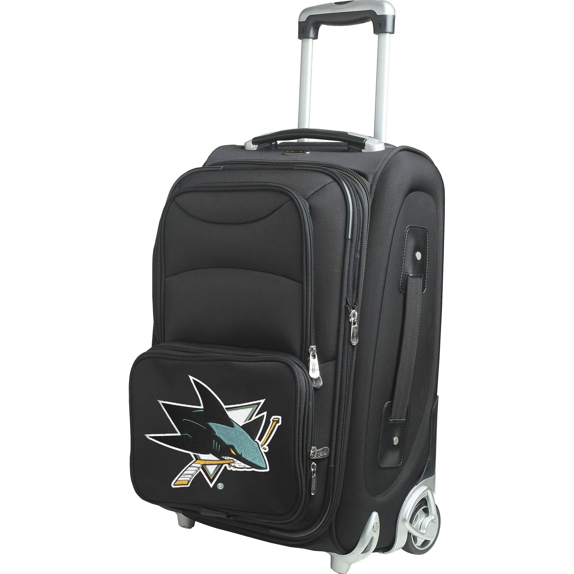 "Denco NHL 21"" Carry-On, San Jose Sharks by Mojo Licensing"