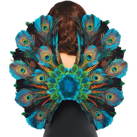 Male Peacock Halloween Costume (Amscan Womens Peacock Feather Halloween Costume Cosplay)