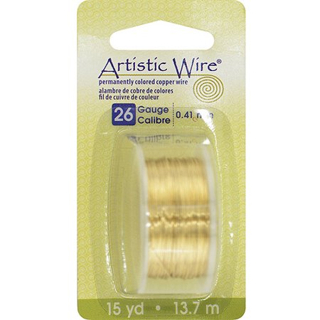 Permanent Colored Copper Wire, 26 Gauge, -