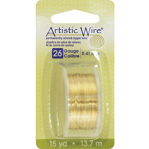 Permanent Colored Copper Wire, 26 Gauge, 15yds