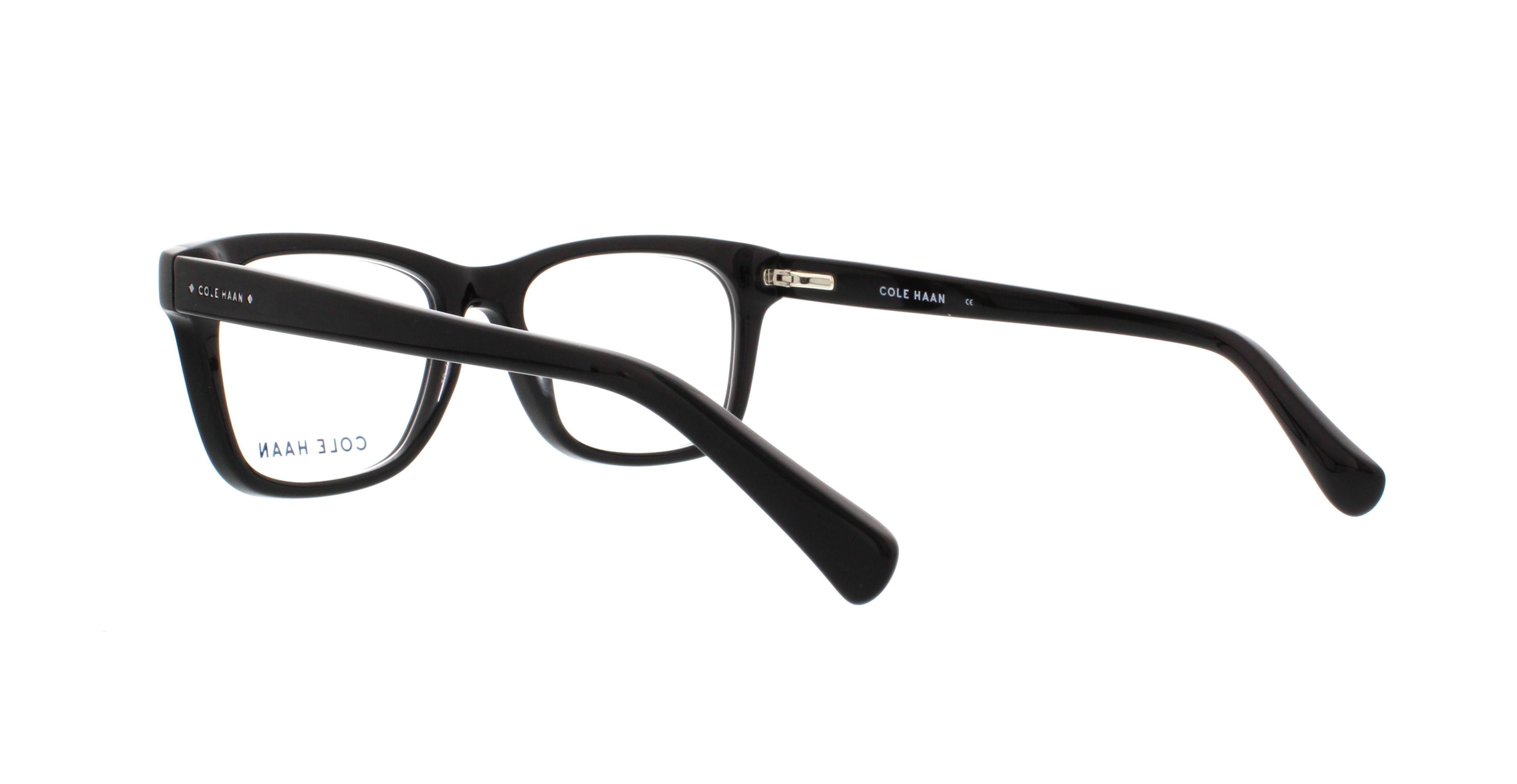 COLE HAAN Eyeglasses CH4008 001 Black 52MM - Walmart.com